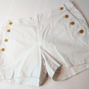 Banana Republic Sailor Button Pockets Shorts Sze 2